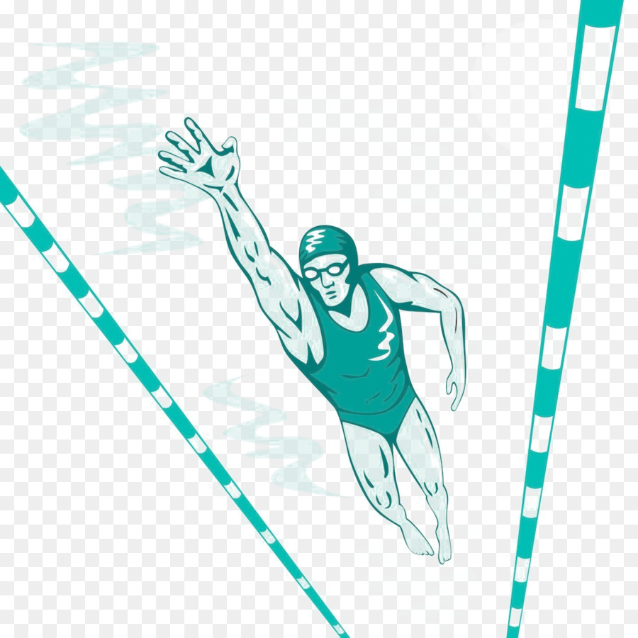 Swimming At The Summer Olympics Freestyle Pool Clip Art