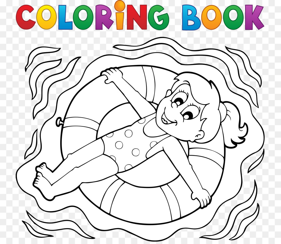 Dibujos animados para Colorear la Ilustración de libros - Croquis de ...