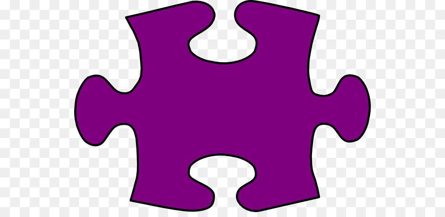 Jigsaw puzzle Clip art - Large Puzzle Piece Template png download ...