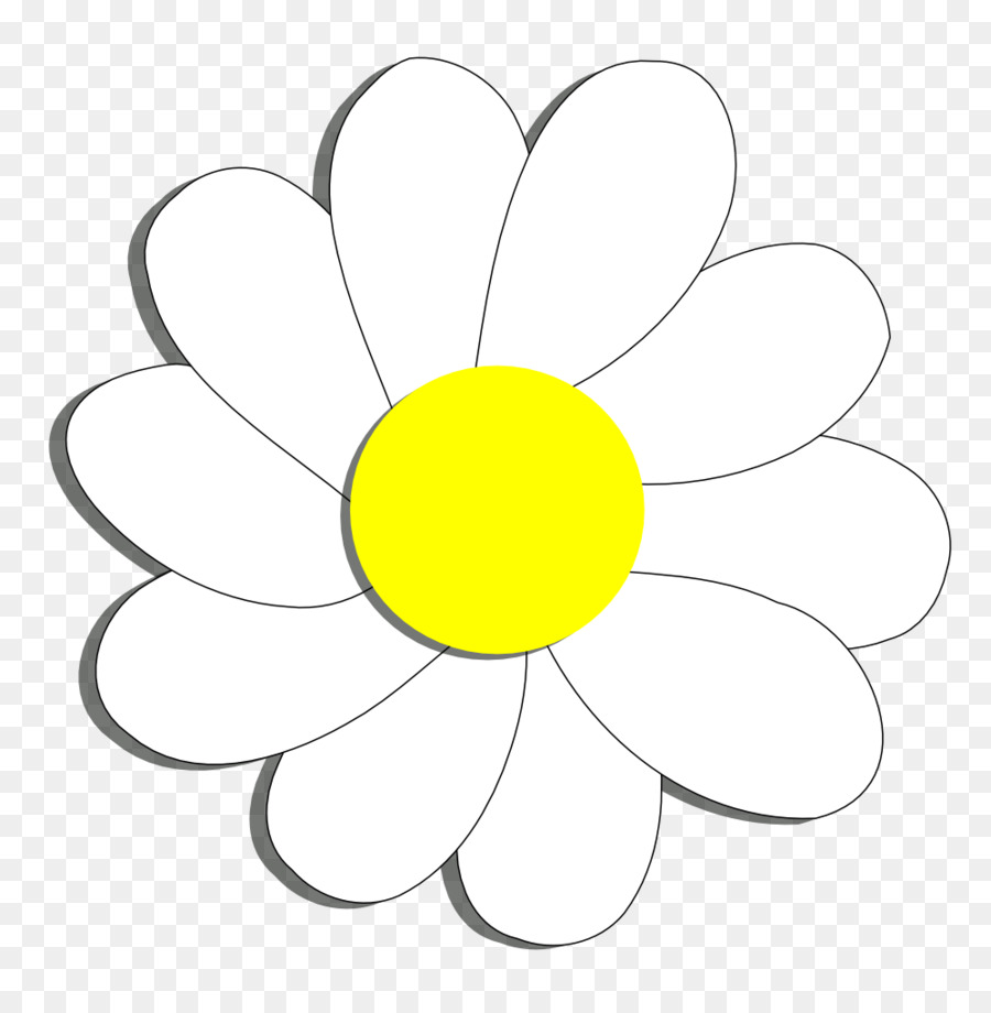 Flower Common Daisy Coloring Book Clip Art Daisy Flower Cliparts