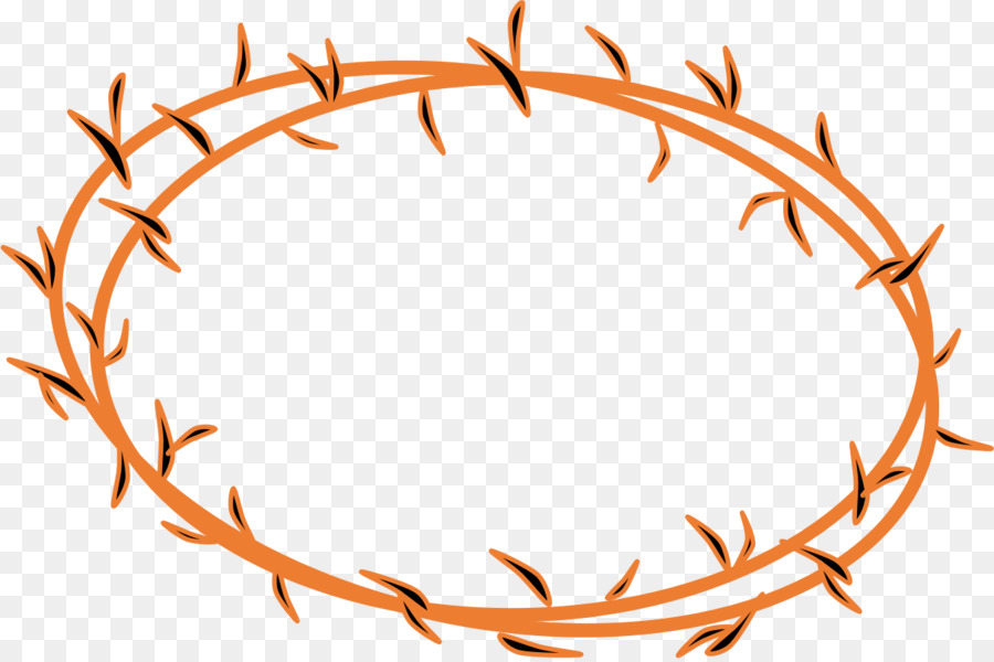 Crown Of Thorns Spines And Prickles Clip Art