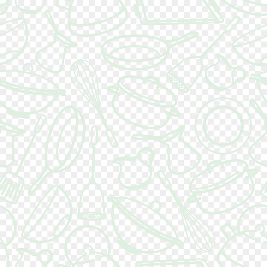 White Black Pattern - Vector Kitchen background png download - 3750 ...