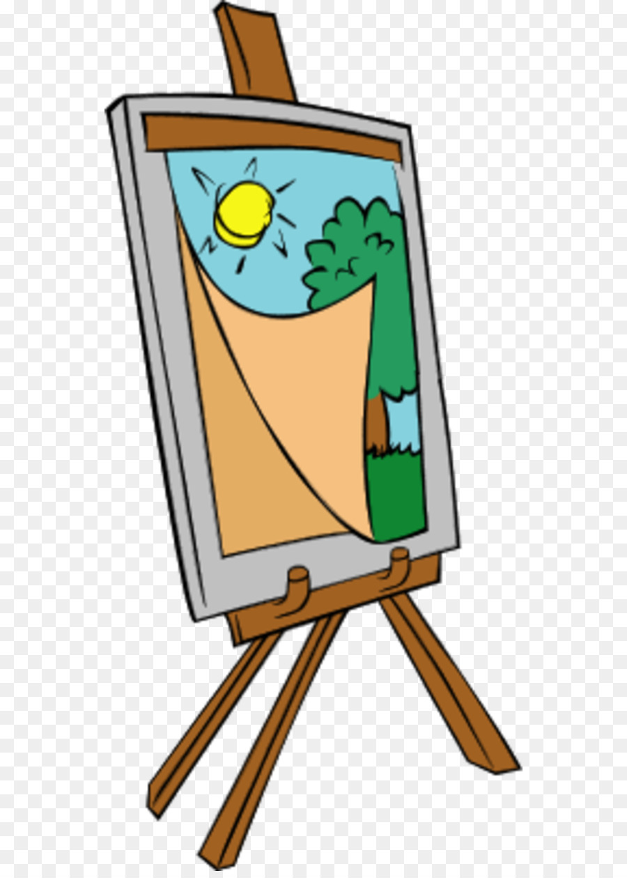 painting easel clip art art easel clipart png download 600 1250 rh kisspng com art easel clipart art easel clipart