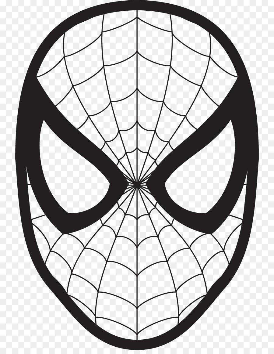 Spider-Man Dibujo de la Cara de libro para Colorear, imágenes ...