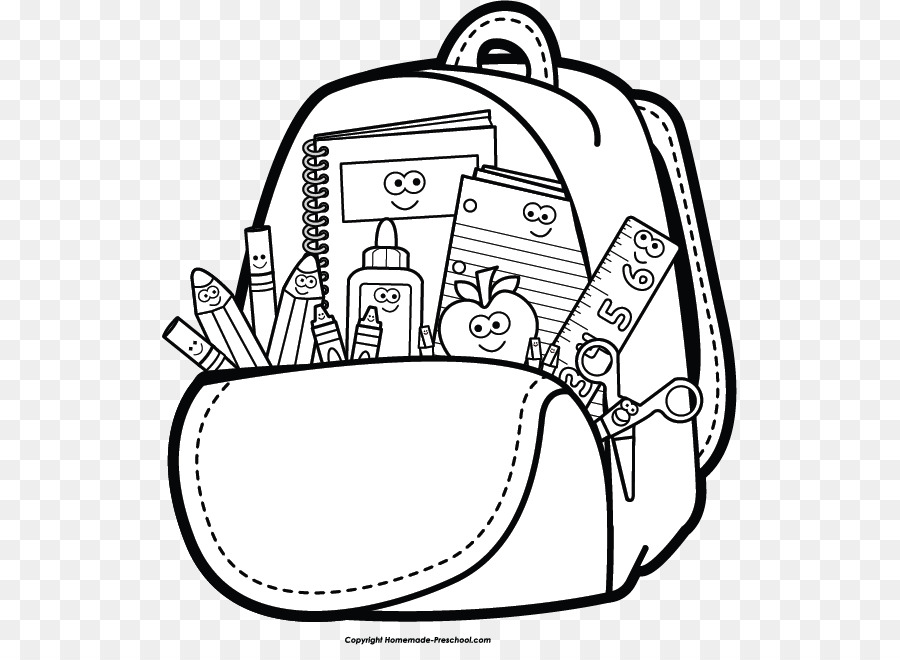 Student Clipart Black And White: Student School Black And White Clip Art