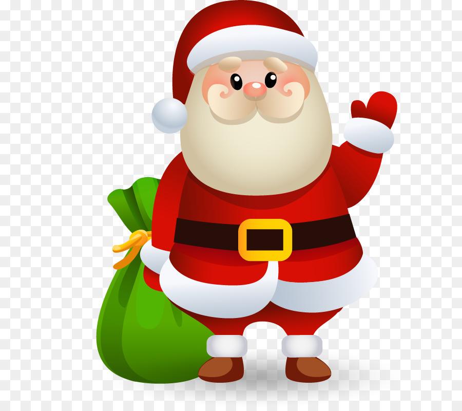 santa claus christmas clip art christmas santa claus vector material png