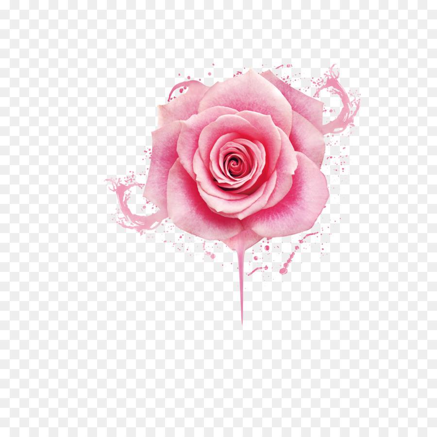 Beach Rose Pink Nail Polish Gel Nails Beautiful Pink Peony Flower