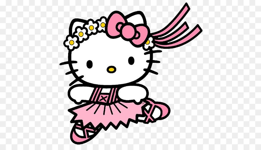 Hello Kitty para Colorear libro Bailarina de Ballet zapatilla de ...