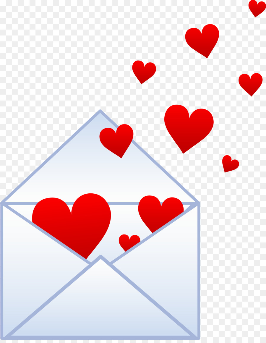 love letter valentines day heart clip art addresses cliparts 5405
