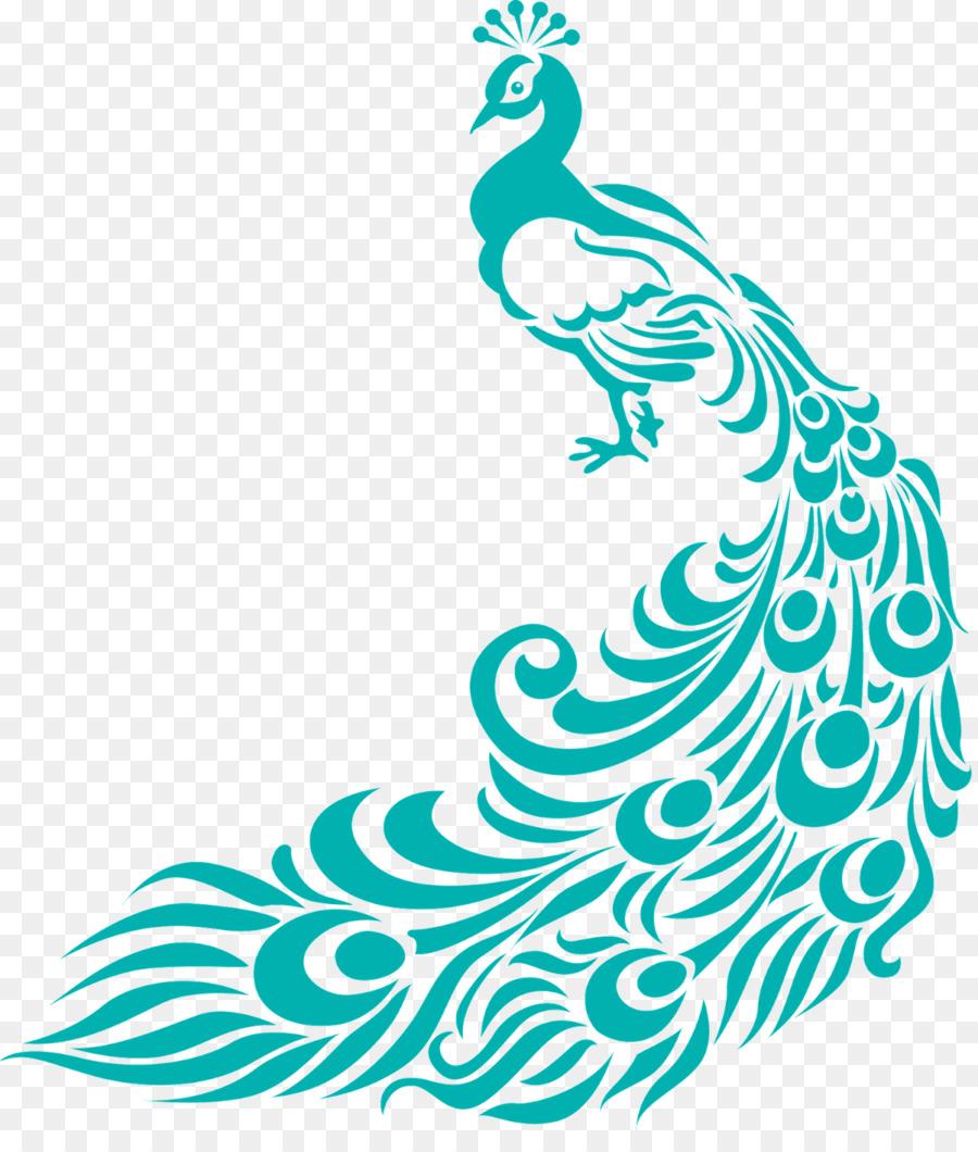 Pavo Real De Contenido Gratuito Clip Art Simple Colorido Pavo
