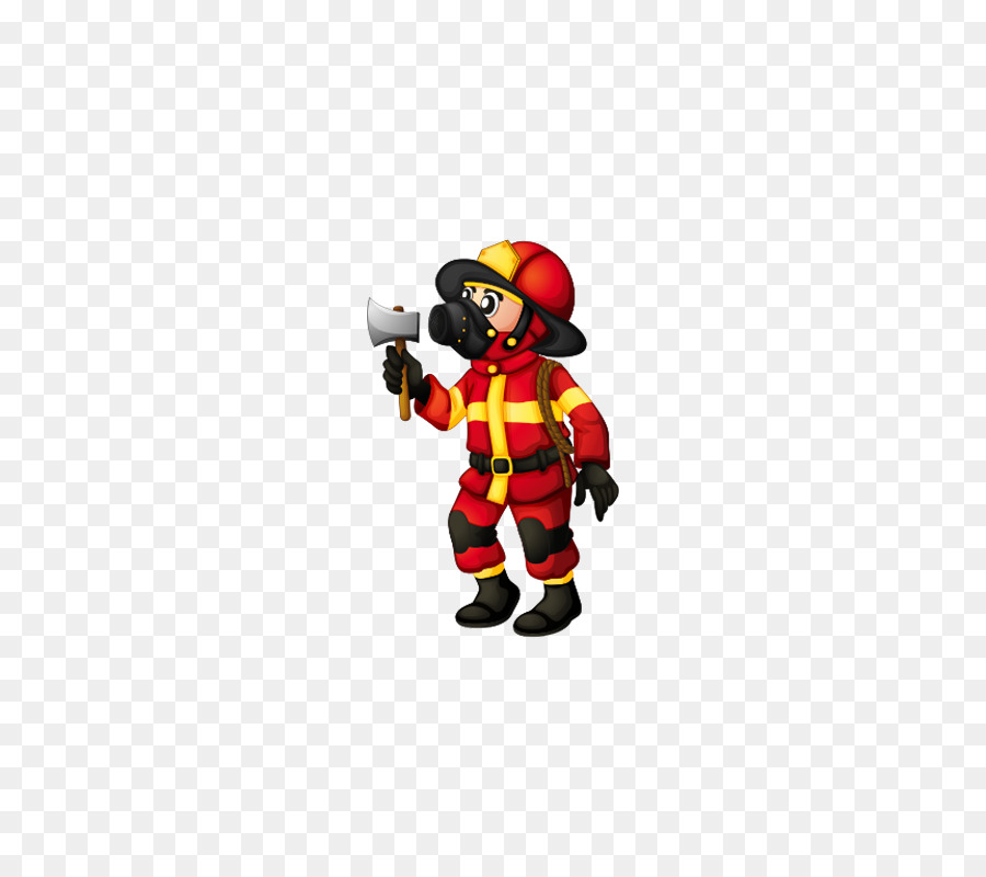 Firefighter Royalty Free Illustration