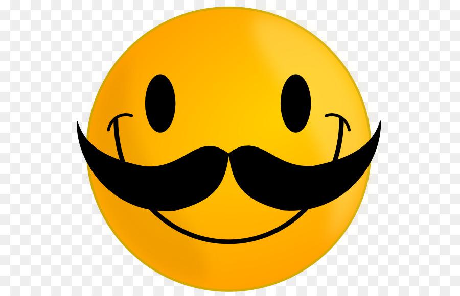 smiley moustache emoticon face clip art silly smile cliparts png rh kisspng com