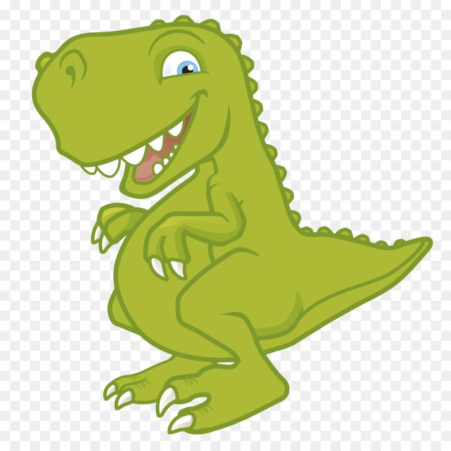 Tyrannosaurus Triceratops Stegosaurus Dinosaur Cartoon   Cute Green Dinosaur