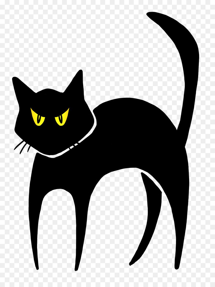 Cat black cat drawing domestic short haired cat snout png