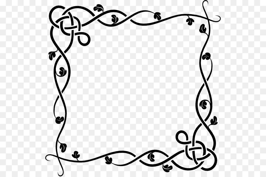 Free content Website Clip art - Word Border Cliparts png download ...