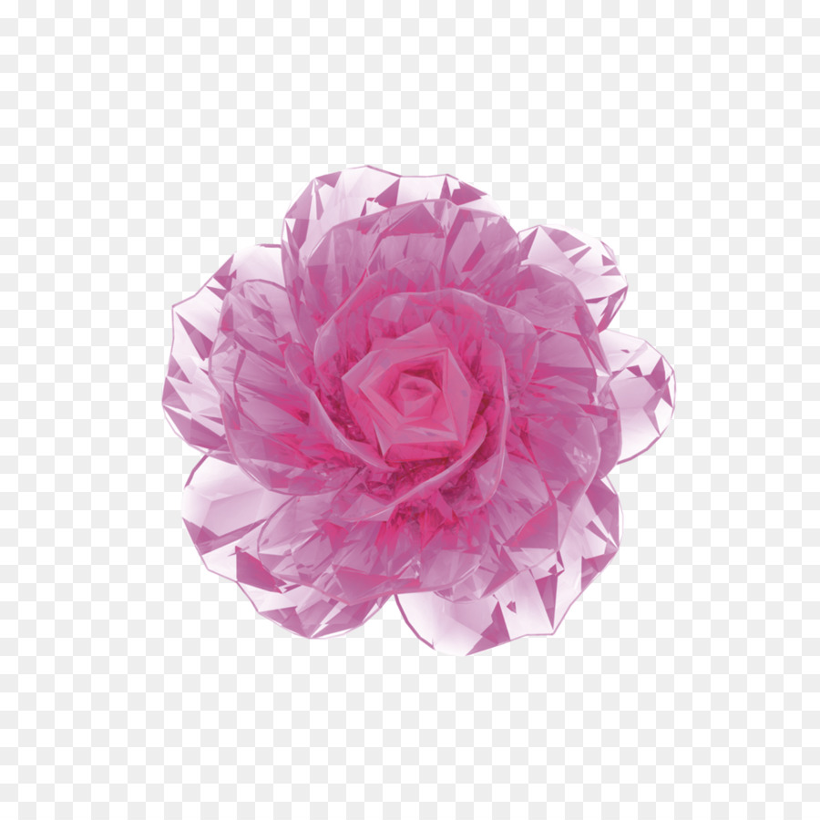 face 3d computer graphics cream flower - 3d flowers png download