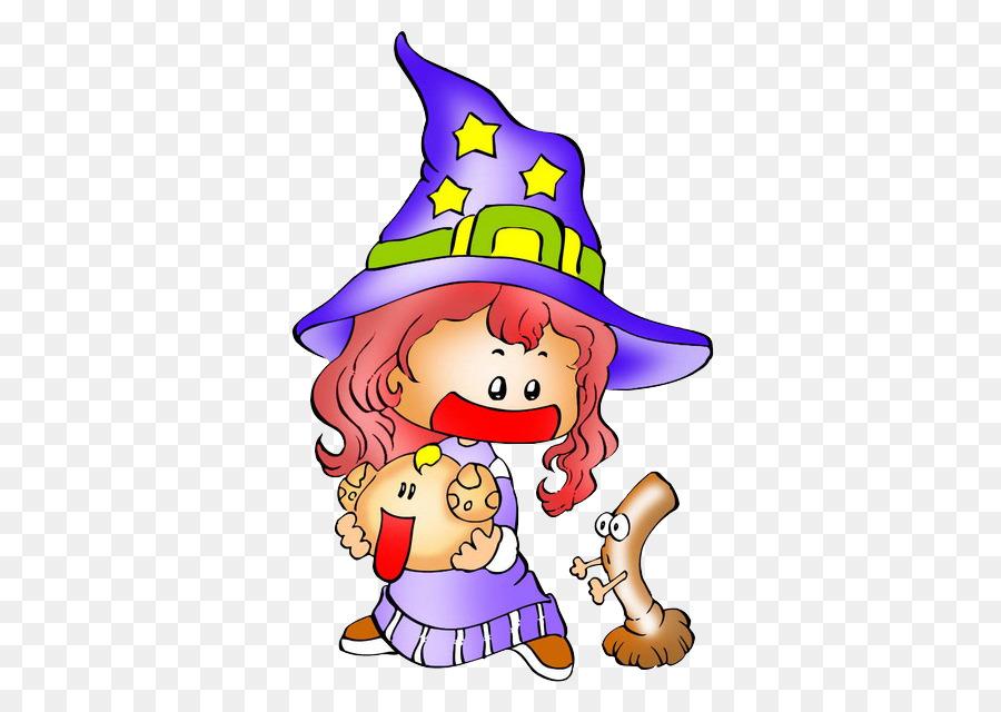 Halloween Kanker Ilustrasi - Penyihir dan Kanker