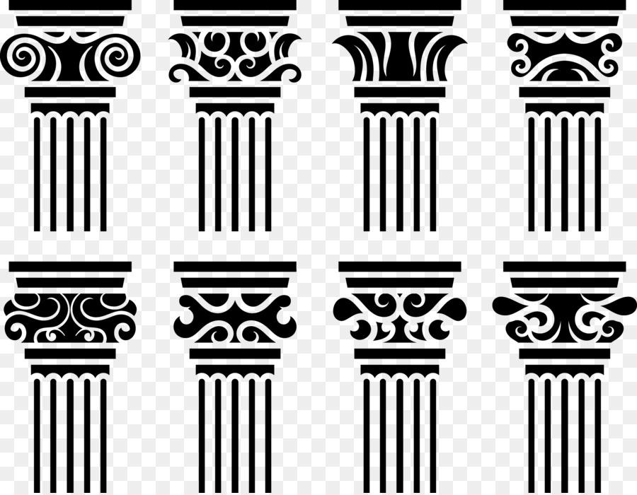 europe baroque architecture column graphic design european architectural column