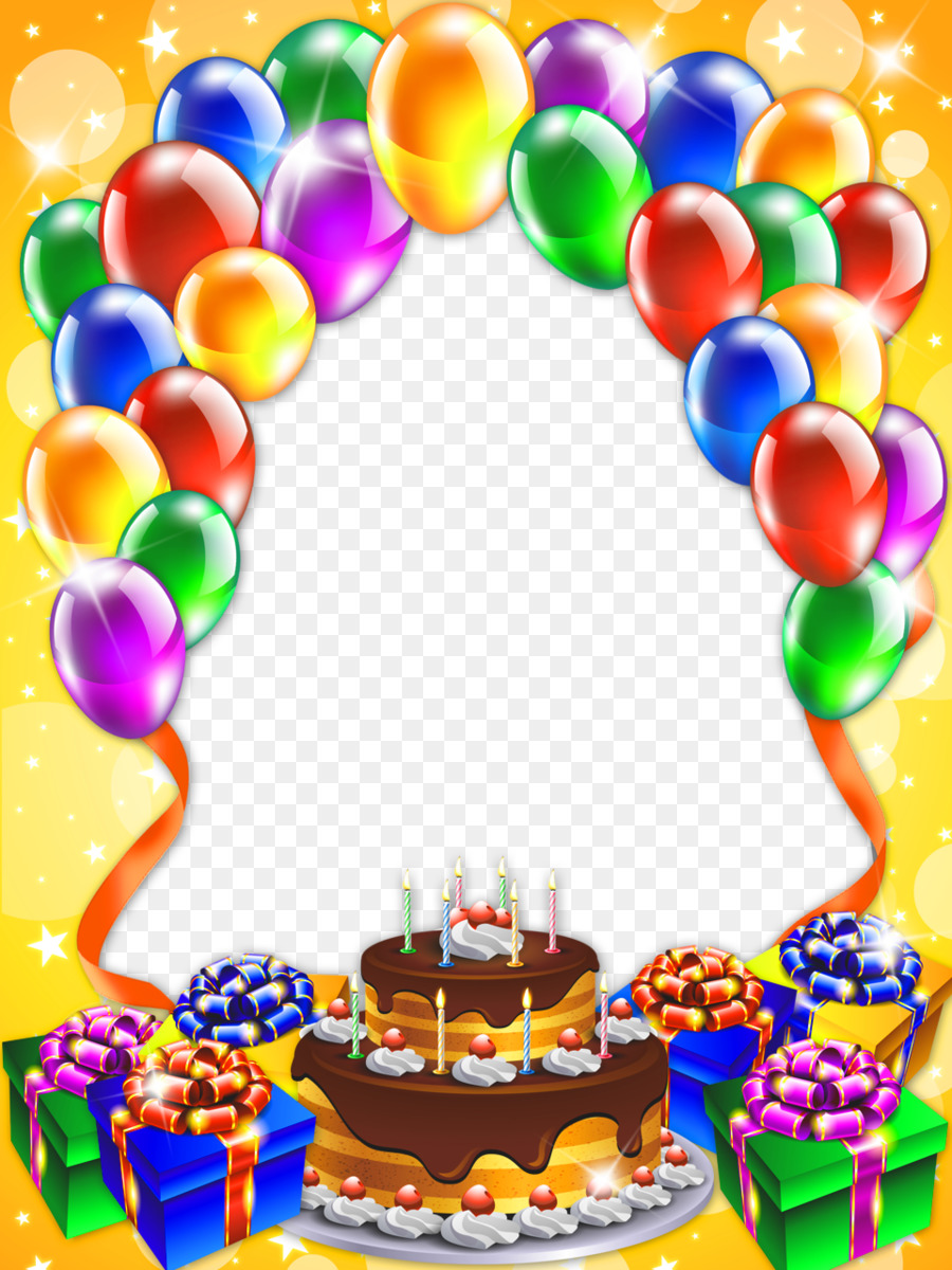 Birthday cake Happy Birthday to You Clip art - Free Birthday Frames ...