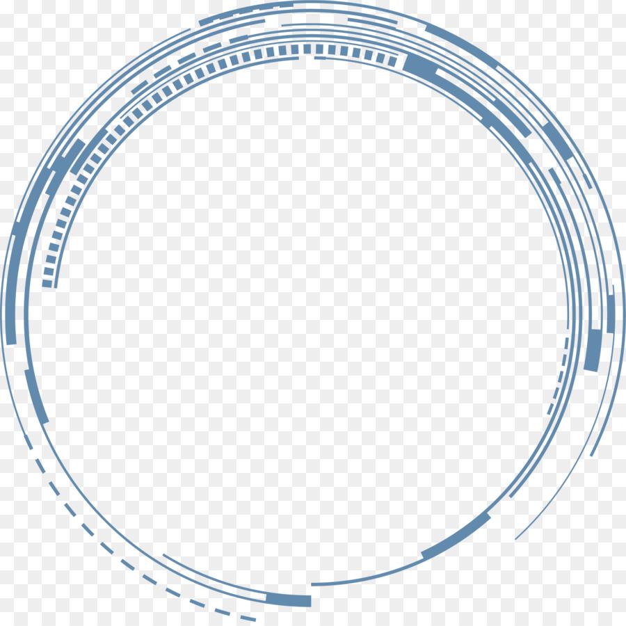 La ciencia Ficción Clip art - La línea azul del círculo Formatos De ...
