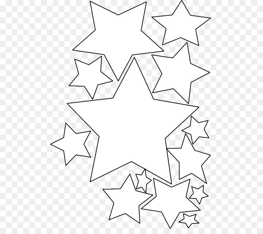 christmas card coloring book greeting card clip art stars line cliparts
