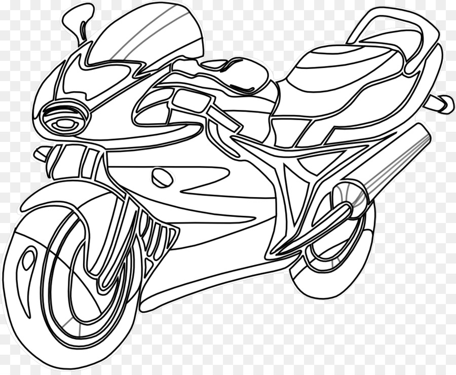 Police motorcycle Coloring book Bicycle Harley-Davidson - Motor ...
