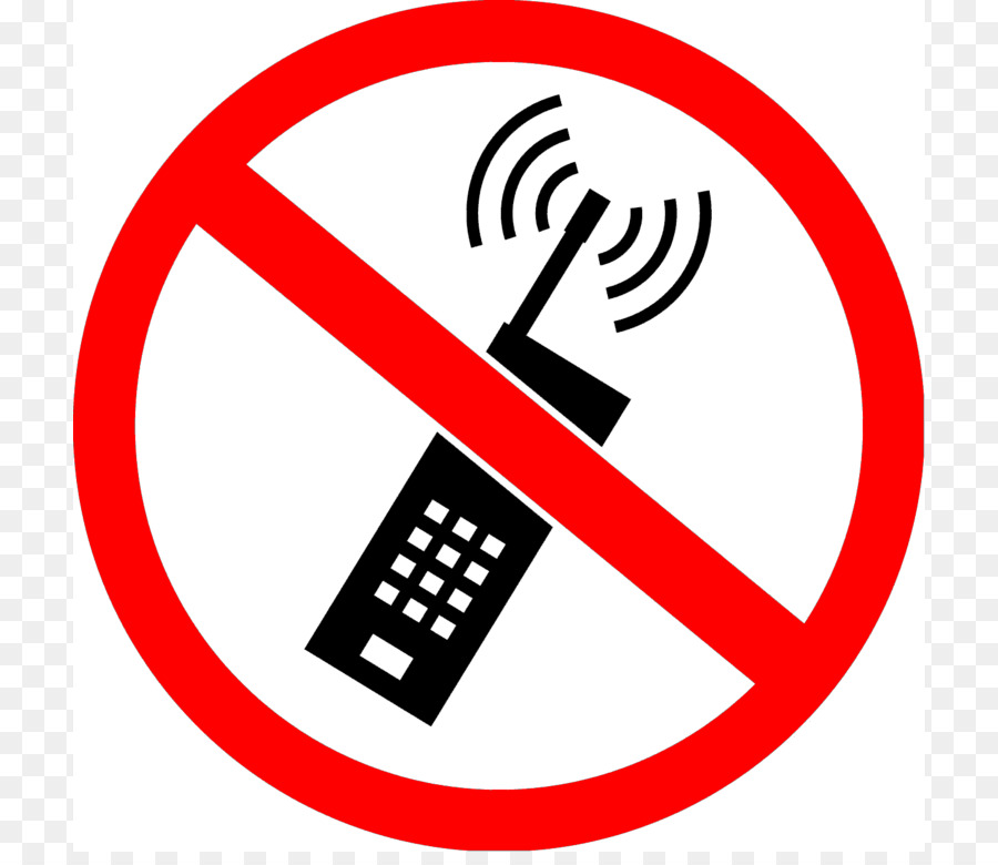 No Symbol Mobile Phone Radiation And Health Sticker Text Messaging