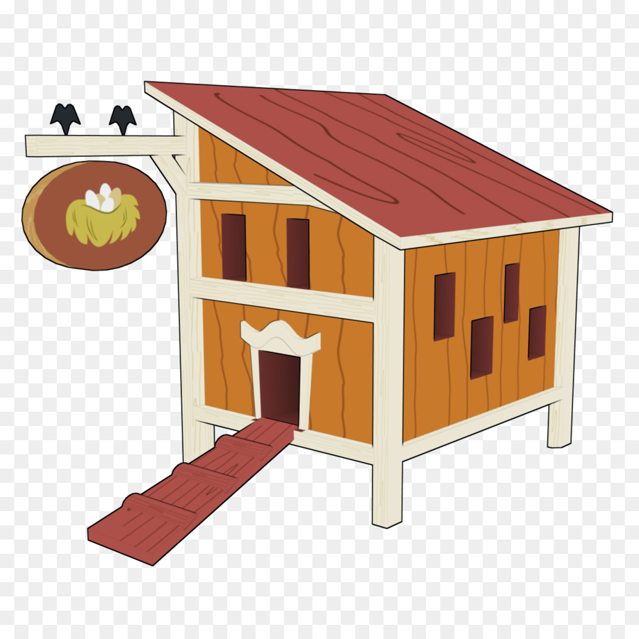 Chicken Coop Paper Farm Clip Art