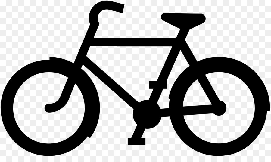 Bicycle cycling black and white clip art sport bike cliparts