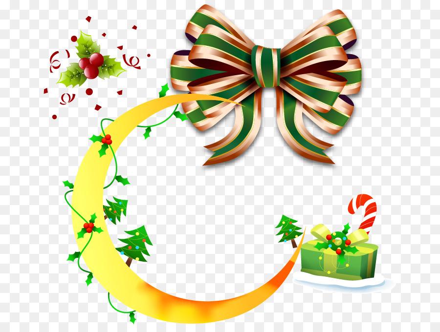 Santa Claus Weihnachten Schnürsenkel knot-Geschenk-clipart - Mond ...