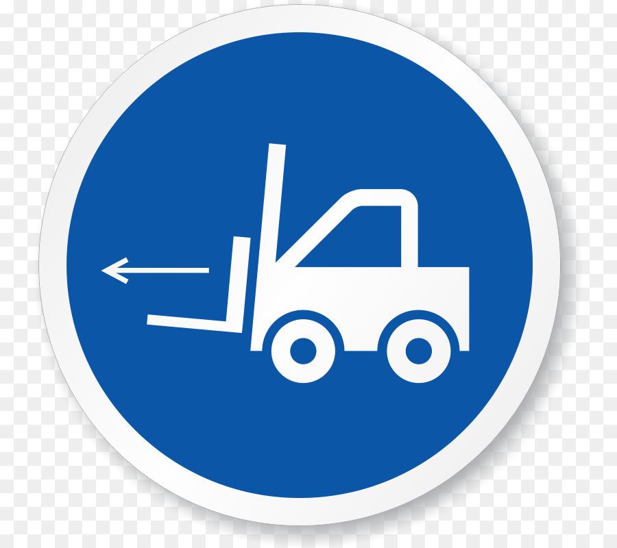 Forklift Iso 3864 Label Symbol Safety Ppe Symbols Png Download