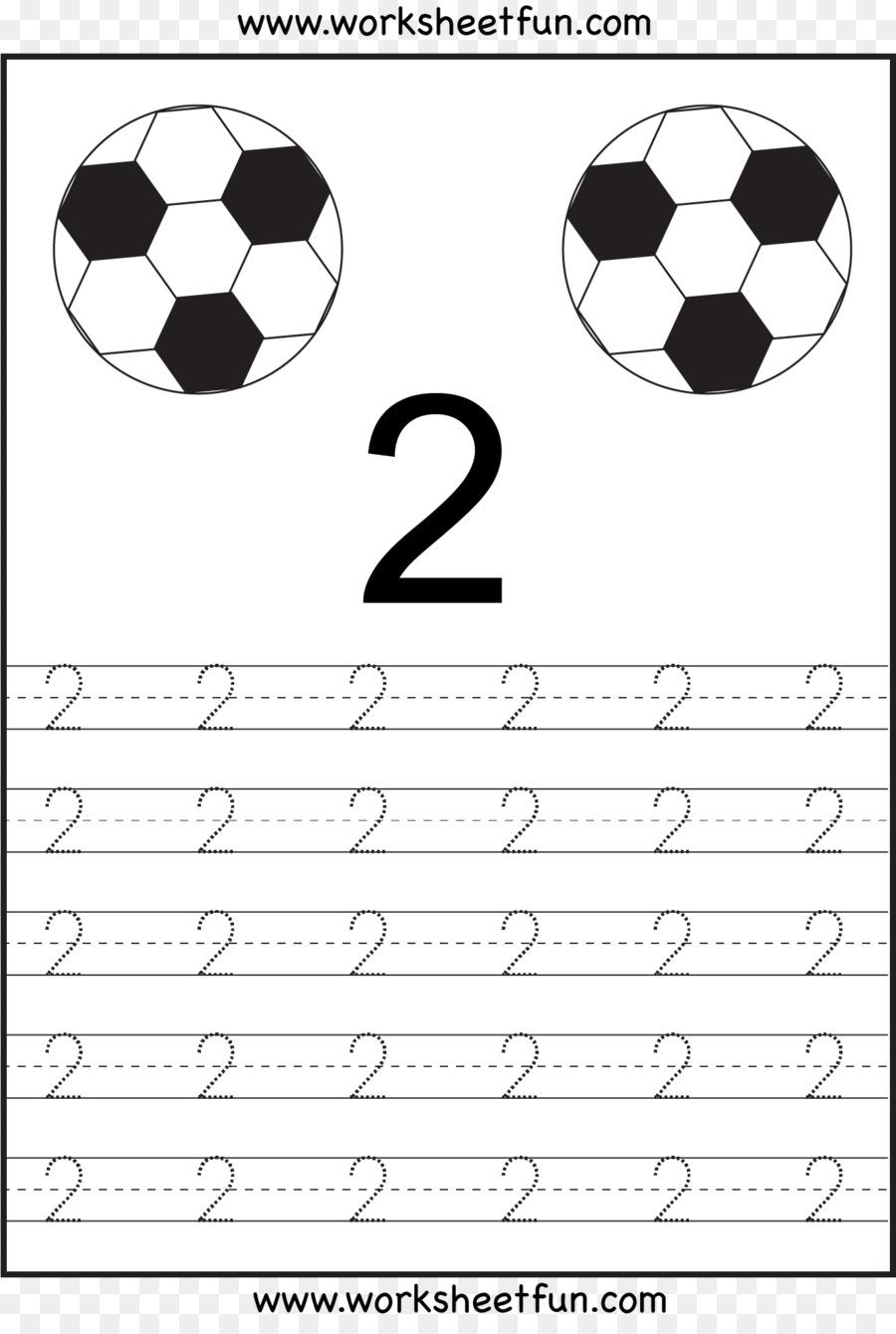 Number Worksheet Mathematics Kindergarten Pre-school - Number 4 ...