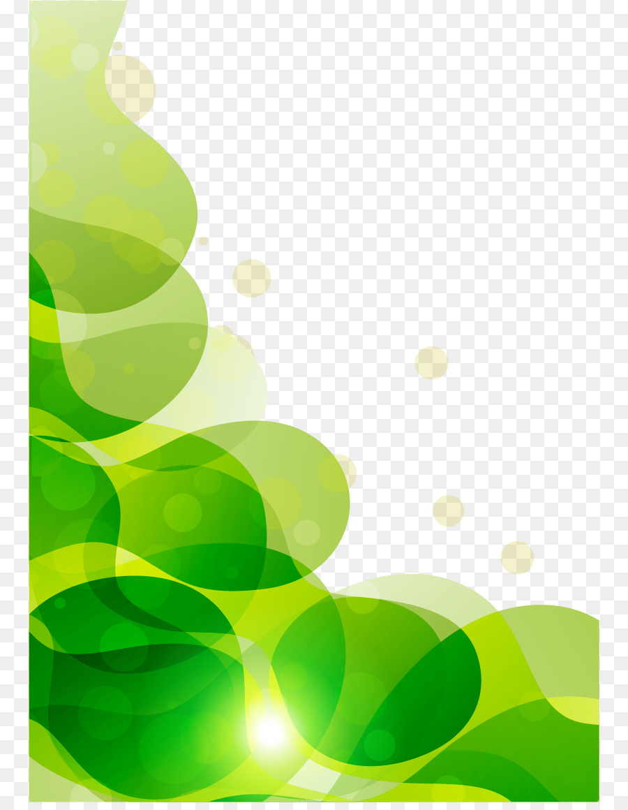 green computer file fantasy green background png download 818