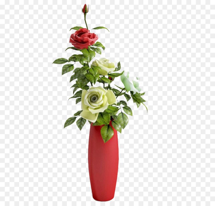 Vase Garden Roses 3d Modeling 3d Computer Graphics Vase Png