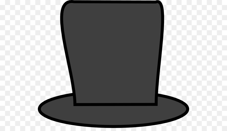 ec4c41774ee Top hat Outline of Abraham Lincoln Clip art - Abraham Cliparts png download  - 600 508 - Free Transparent Top Hat png Download.