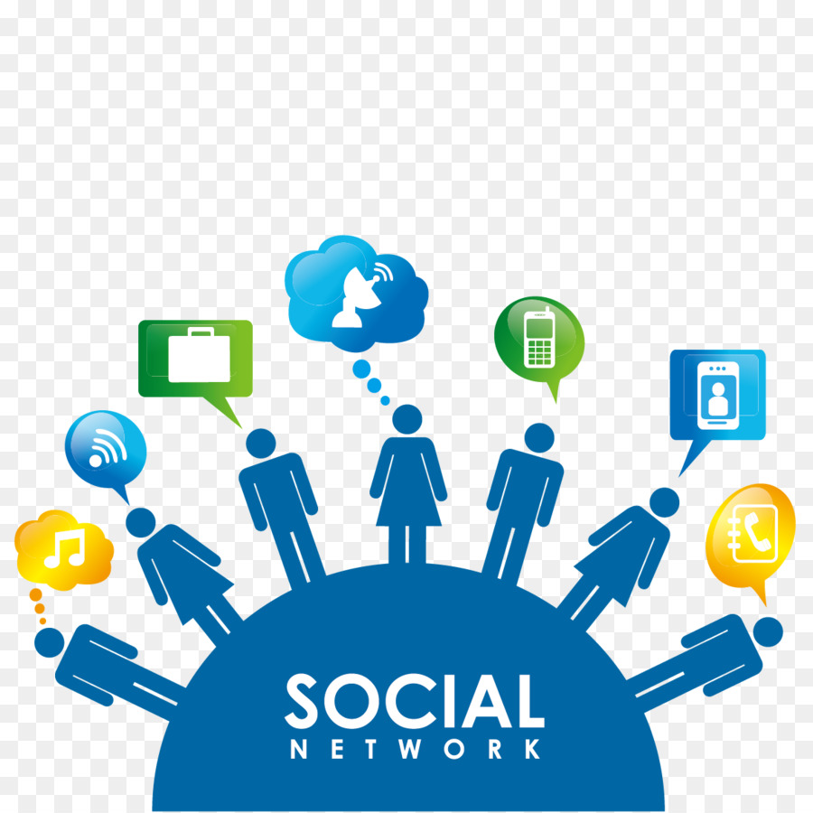 Social media Social network Royalty-free Clip art - Vector ...