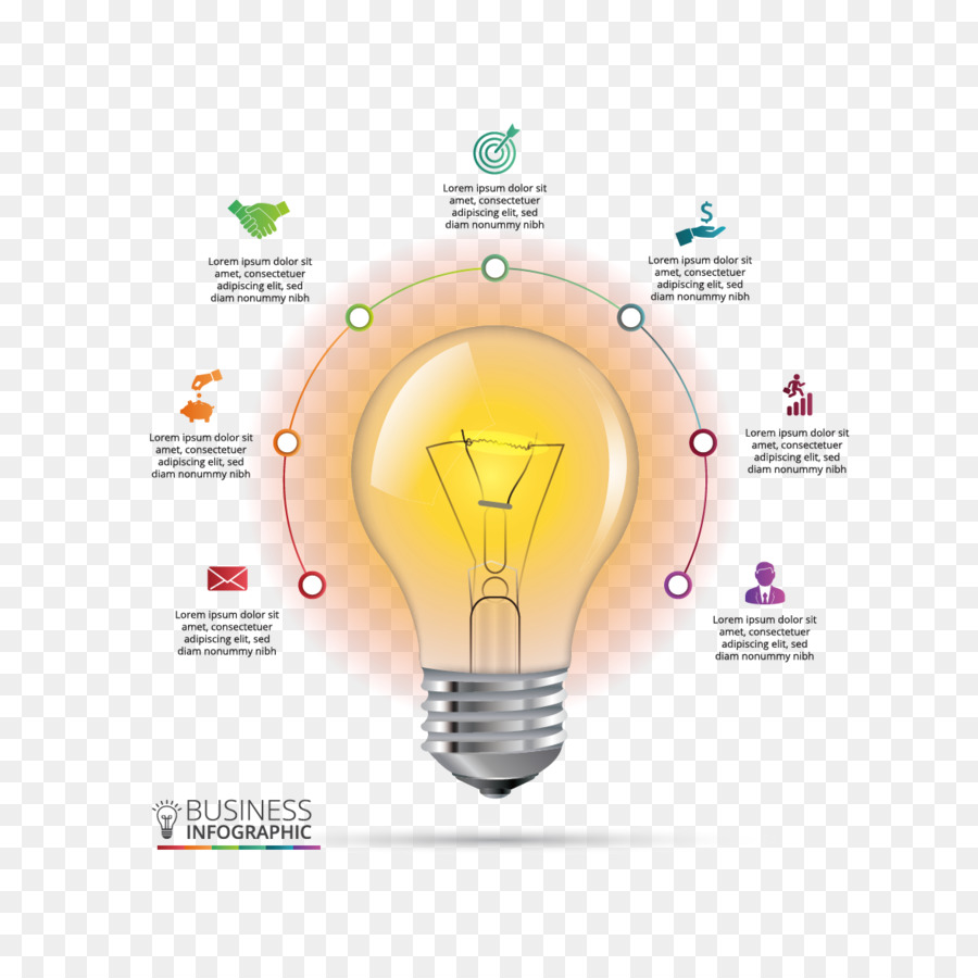 infographic chart incandescent light bulb diagram vector materialinfographic chart incandescent light bulb diagram vector material bulb ppt png download 1181*1181 free transparent infographic png download