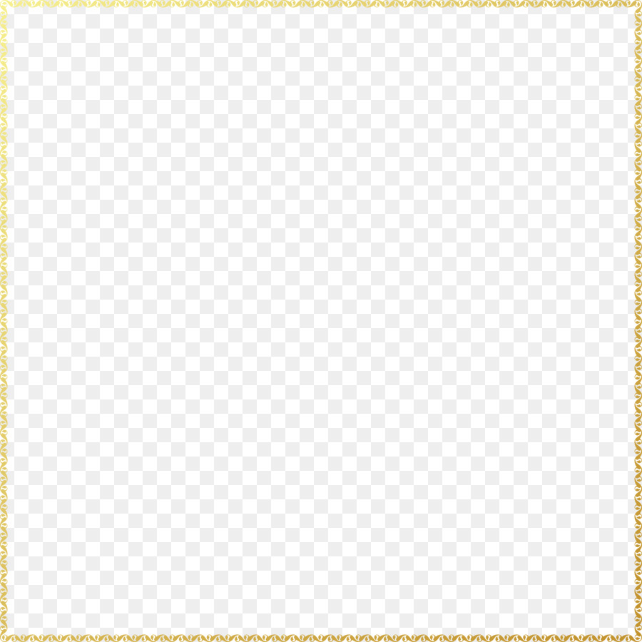 Square Area Angle Pattern - Gold frame png download - 7543*7542 ...