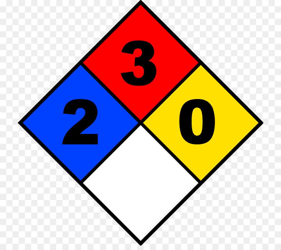 Nfpa 704 National Fire Protection Association Hazard Label Clip Art