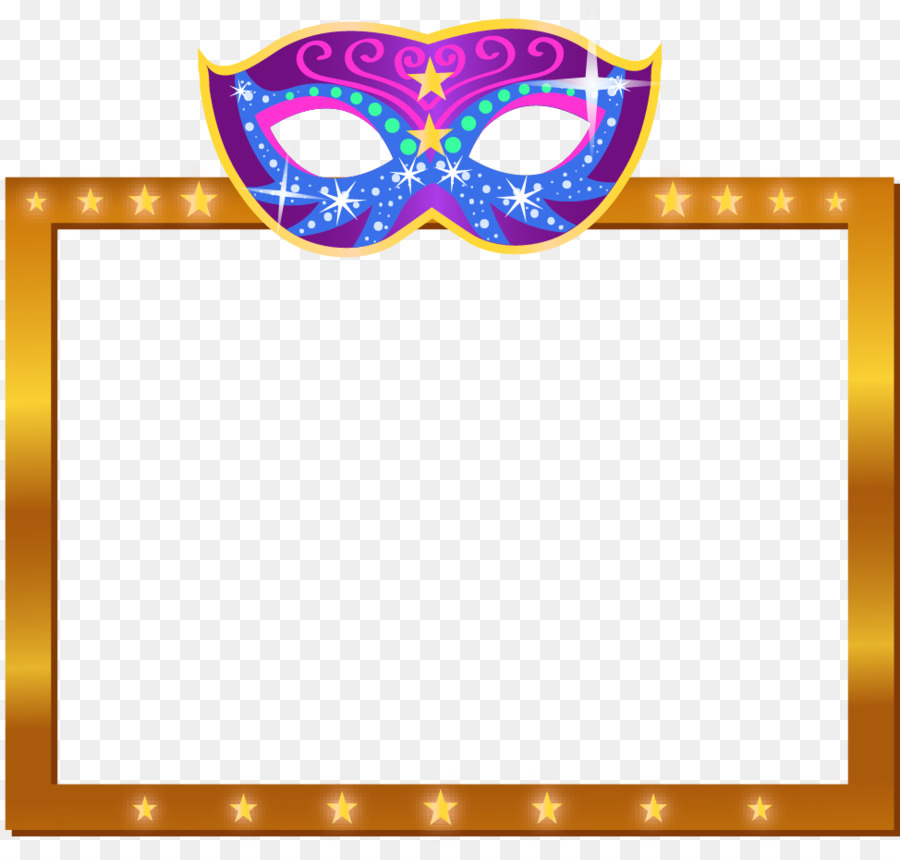 Carnival in Rio de Janeiro Picture frame - Cool gold frame png ...