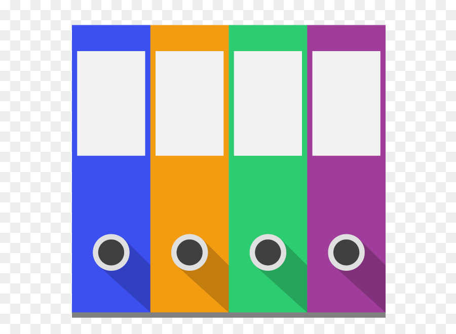 Anillo de papel de cuaderno carpeta de Archivo de Clip art - Vector ...