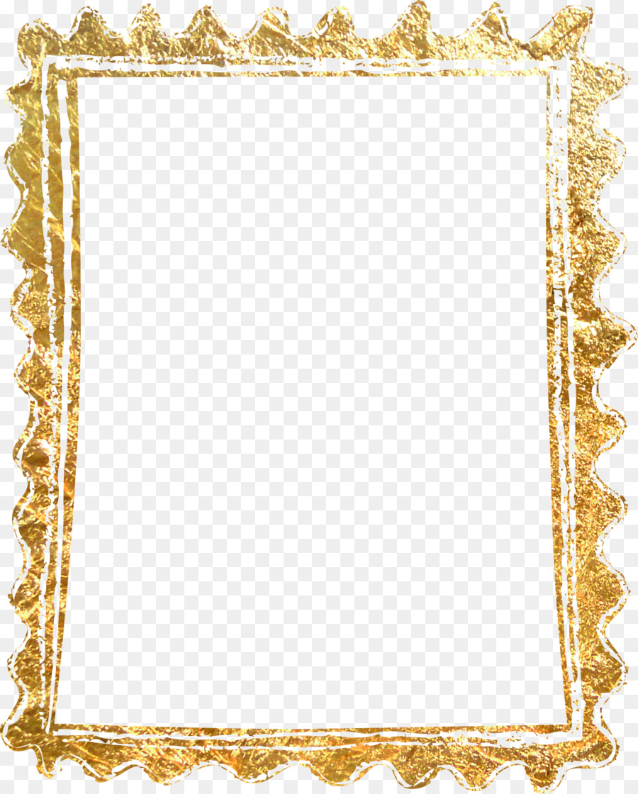 Picture frame Gold - Material gold border png download - 1448*1801 ...
