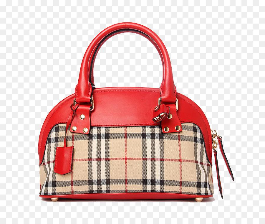 5b6118ed62a7 Burberry Tote bag Handbag Messenger bag - Red fashion Burberry handbags png  download - 750 750 - Free Transparent Burberry png Download.