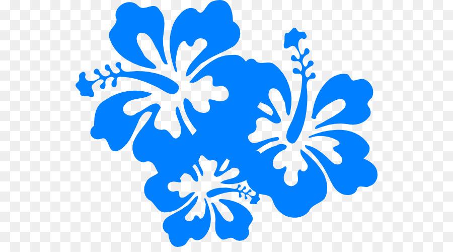 hawaiian flower clip art blue hibiscus cliparts png download 600 rh kisspng com Hibiscus Flower Drawings Hawaiian Flower Clip Art