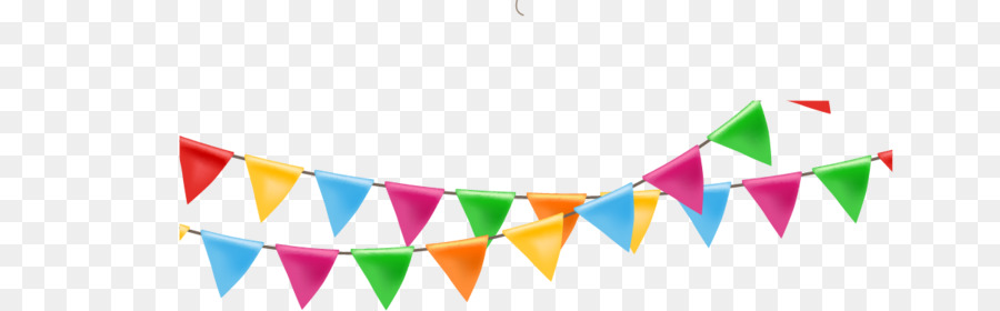 Paper Ribbon Balloon Festival Flag Streamers Png