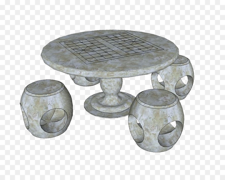 Table Chair Furniture   Ancient Stone Chess Tables And Chairs