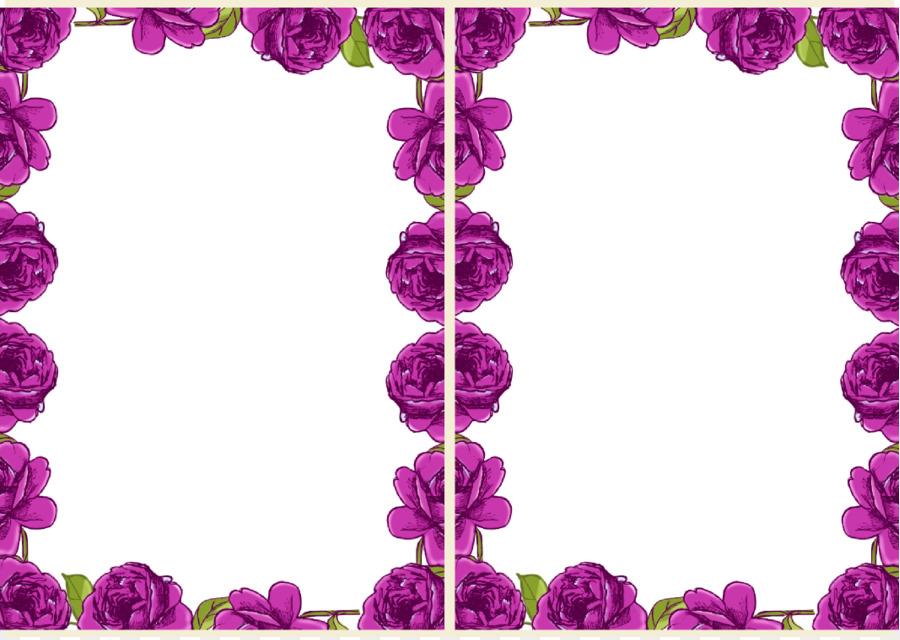 Garden roses Paper Floral design Drawing - Free Printable Floral ...