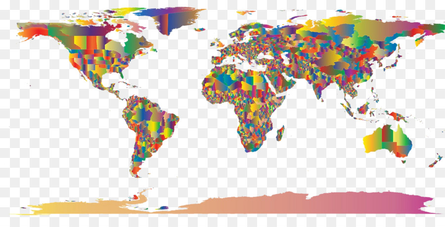 Globe world map color world map 2 png download 1200600 free globe world map color world map 2 gumiabroncs Images