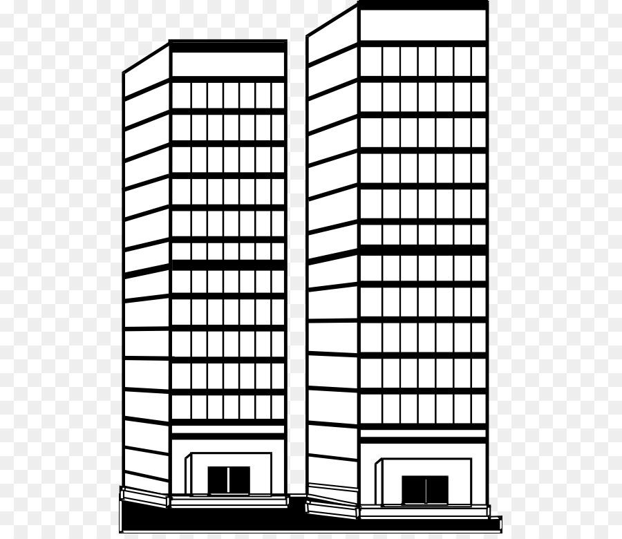 La construcción de Rascacielos libro para Colorear en Línea de arte ...