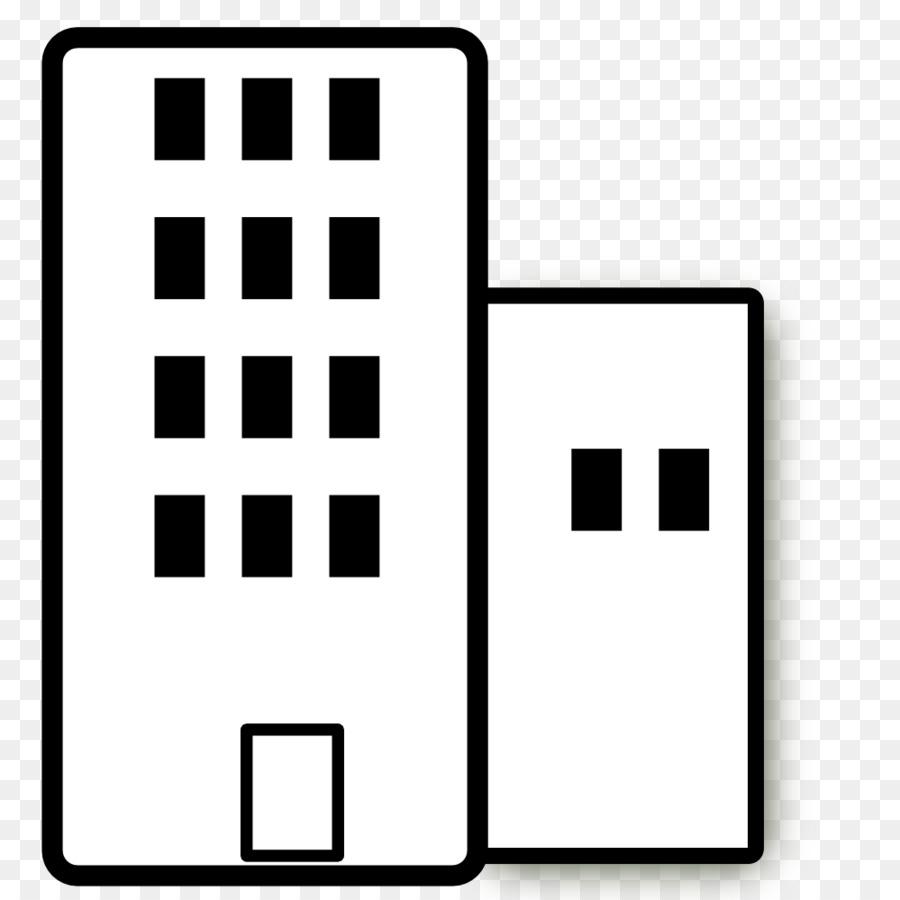 building apartment white clip art black building cliparts png